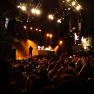 Rock en Seine 2012 : C2C